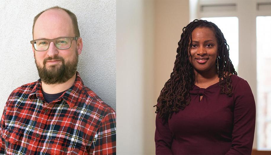 Patrick Burke and Lauren Eldridge Stewart