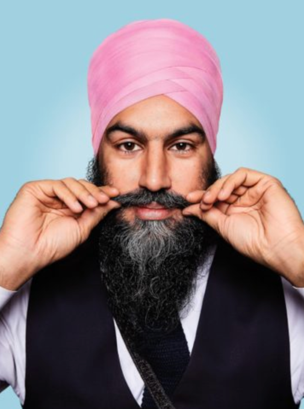 Jagmeet Singh GQ feature