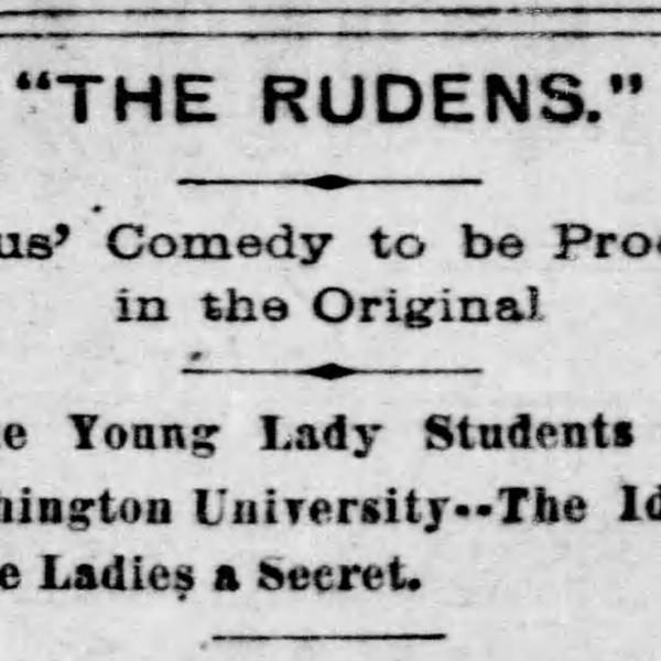Comedy and gender through the centuries