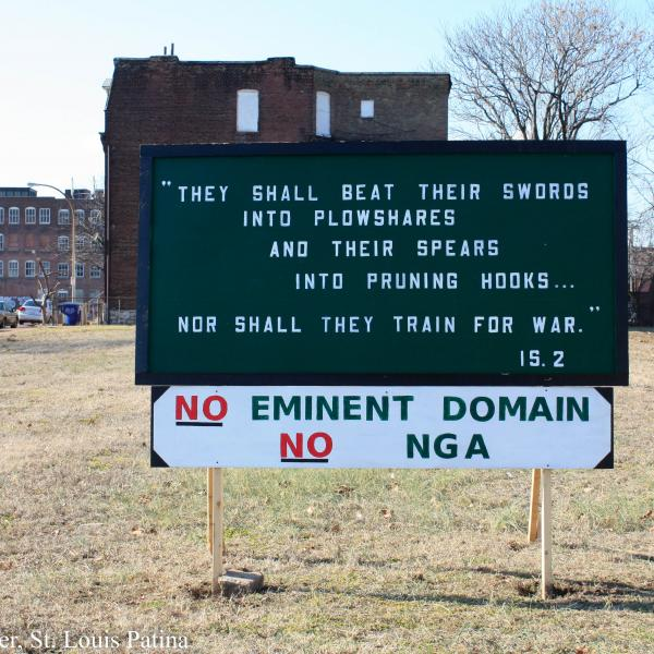 No Place Like Home: St. Louis' Eminent Domain History