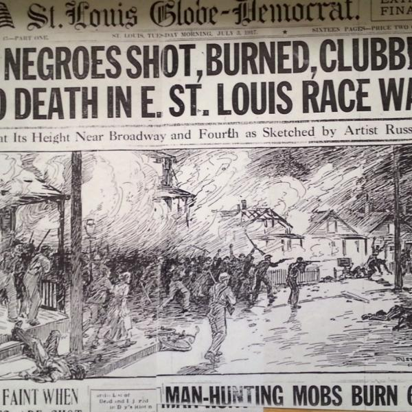 Commemorating the East St. Louis Race Riots