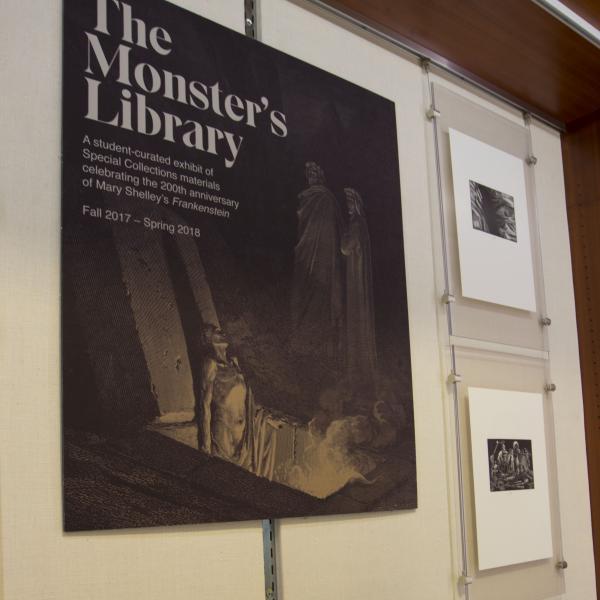 A Literary Anatomy: Student Exhibit Analyzed 'Frankenstein' Book by Book
