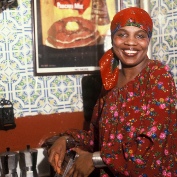 Happening in the kitchen: Vertamae Smart-Grosvenor cooks up Black arts