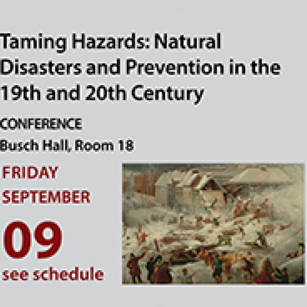 Taming Hazards conference