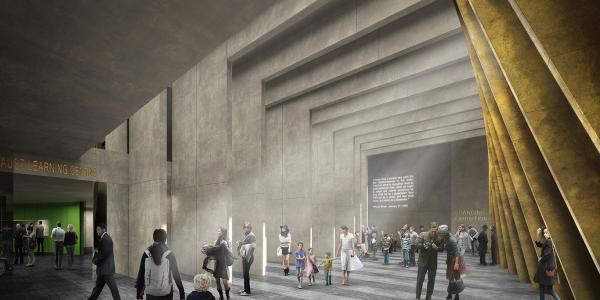 adjaye design for UK Holocaust Museum